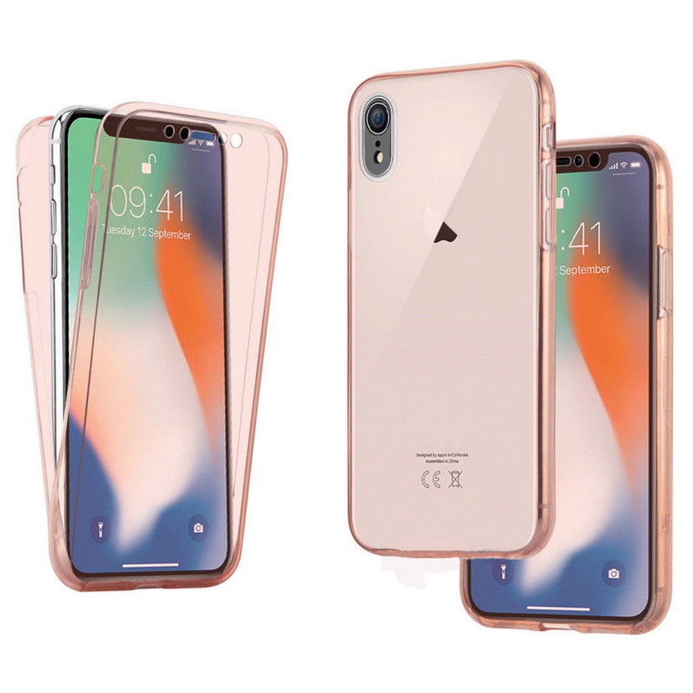 for iphone xr xs max 360 full protective front back. Black Bedroom Furniture Sets. Home Design Ideas
